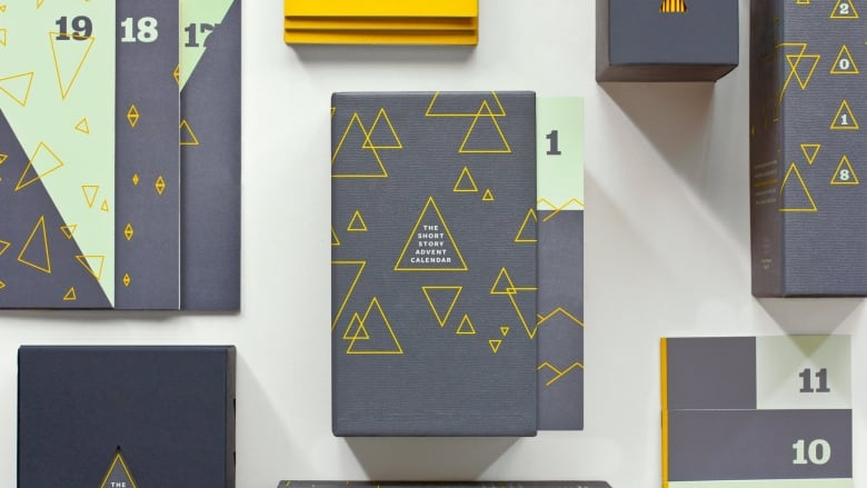 With this advent calendar, you get a short story a day instead of chocolate