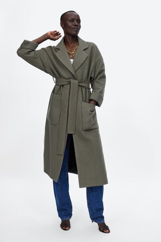d2fb0095c5b1 Adelaida Slim Fit Maxi-Length Classic Wool Coat, $550, soiakyo.com. Long  Belted ...
