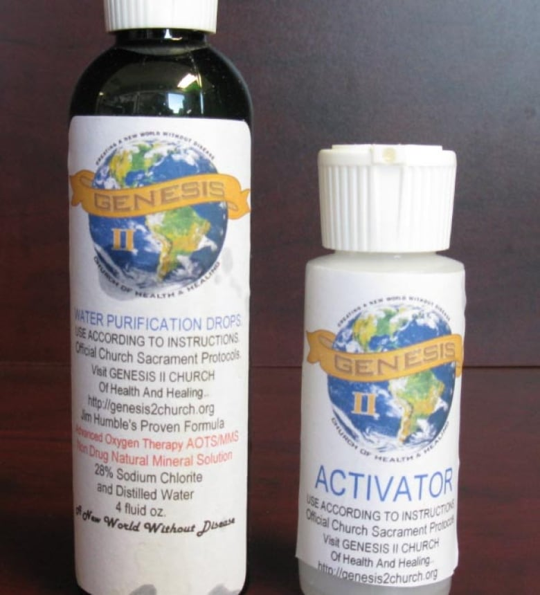 B C  man first person convicted for sale of so-called miracle tonic