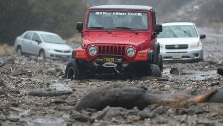 APTOPIX California Storms