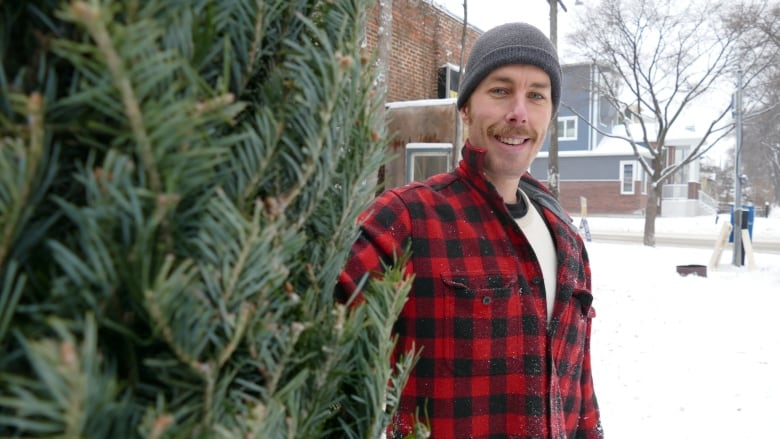 Petes Christmas.Pull The Tree Home By Sled Or Buy Online Winnipeg Tree