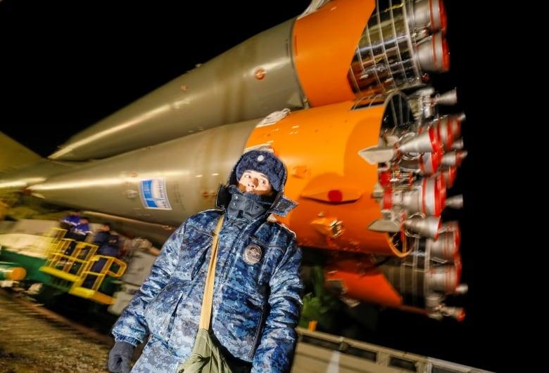 Solemn, spectacular ritual precedes David Saint-Jacques's Soyuz launch space station soyuz
