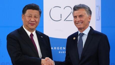 G20-ARGENTINA/ARRIVALS