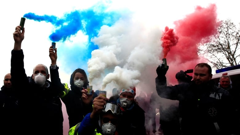Students, paramedics join France cost-of-living protests