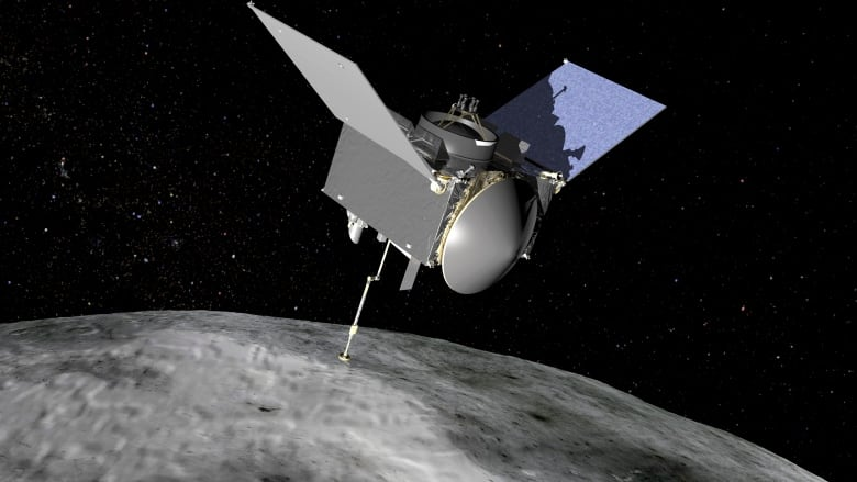 Orbital visual: In first, NASA spaceship begins orbit of asteroid