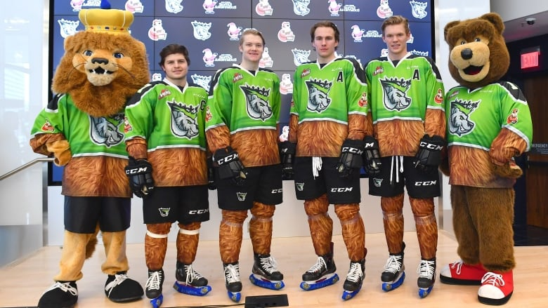 My eyes! My eyes! Oil Kings unveil bear-y different jerseys for ... 6a3b624b5