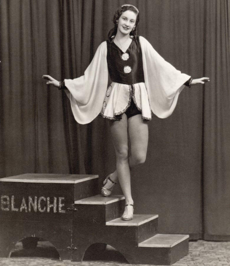 Blanche Lund, Canadian dancer who performed for troops in ...