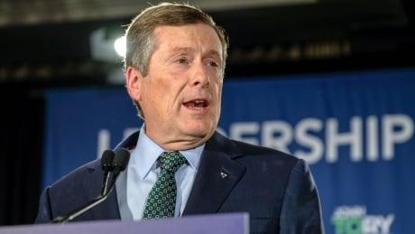 Toronto John Tory Election Night Win