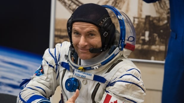 On space station, David Saint-Jacques takes questions from media