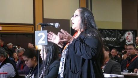 Neskonlith Chief Judy Wilson