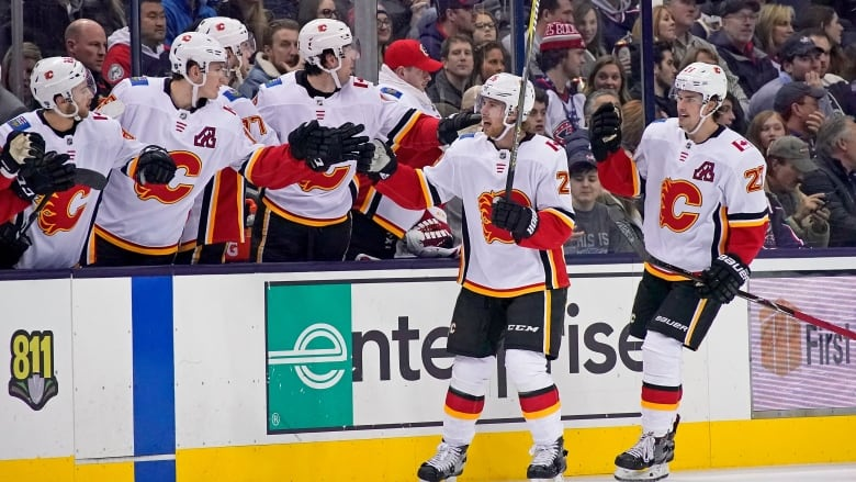 National Hockey League  suspends Flames' Giordano, Lomberg