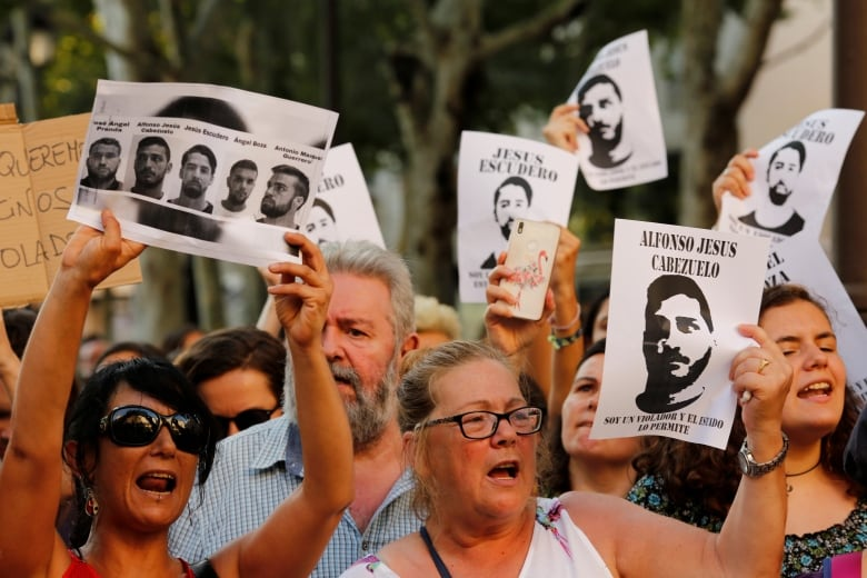 Spanish court upholds controversial 'Wolf Pack' conviction