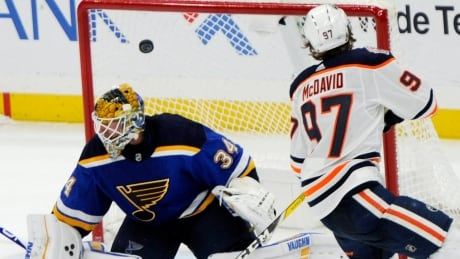Connor McDavid's shootout goal lifts Oilers over Blues