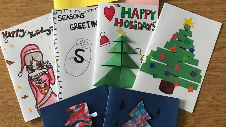 Christmas Cards For Teachers.Messages Of Hope London Students Aim To Make A Difference