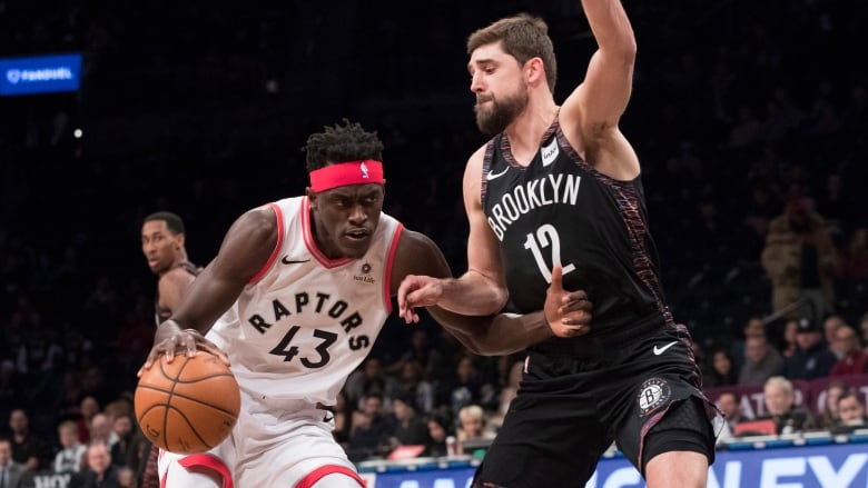 Nets edge Raptors in OT to end 8-game skid