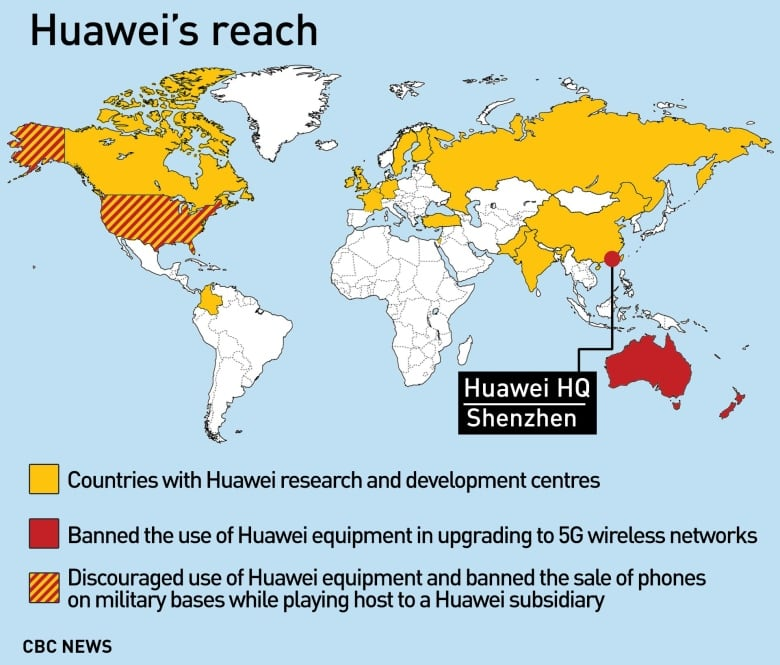 Map Of Canada Showing Vancouver.China Summons Canadian Ambassador Over Huawei Cfo S Arrest In