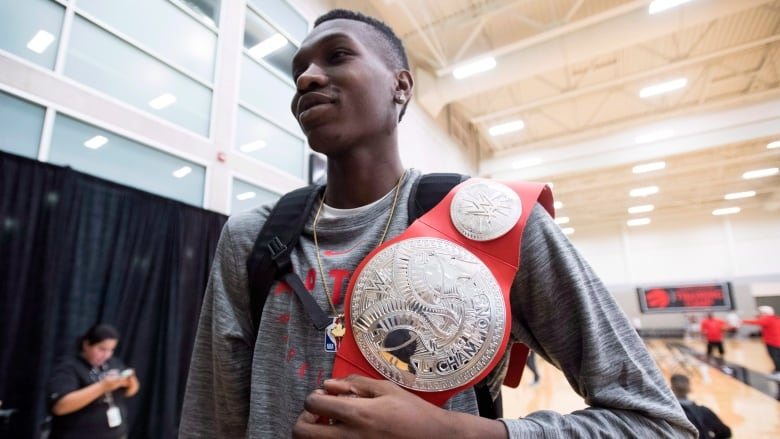 4c06dc826e6 From washing dishes to the NBA  The unlikely rise of Raptors  Chris Boucher