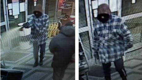 Suspected bear spray and handgun involved in Windsor robbery