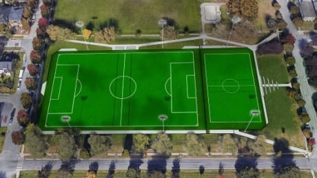 Clinton synthetic turf field proposal
