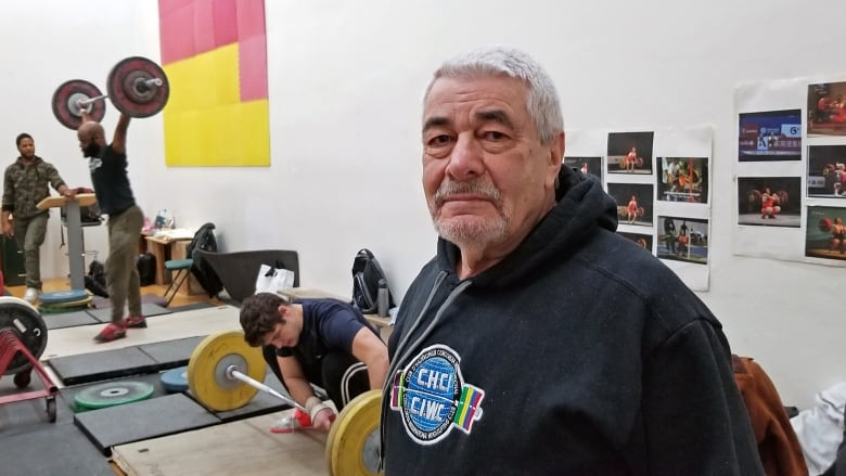894d377bc3a61c John Margolis founded an Olympic-style weightlifting club in Montreal that  is open to anybody who wants to train
