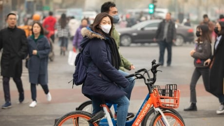 GPS bike-share program in China credited with reducing gridlock and smog | CBC