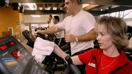 Microbes that live at the gym are pumped up on antibiotic resistance | CBC