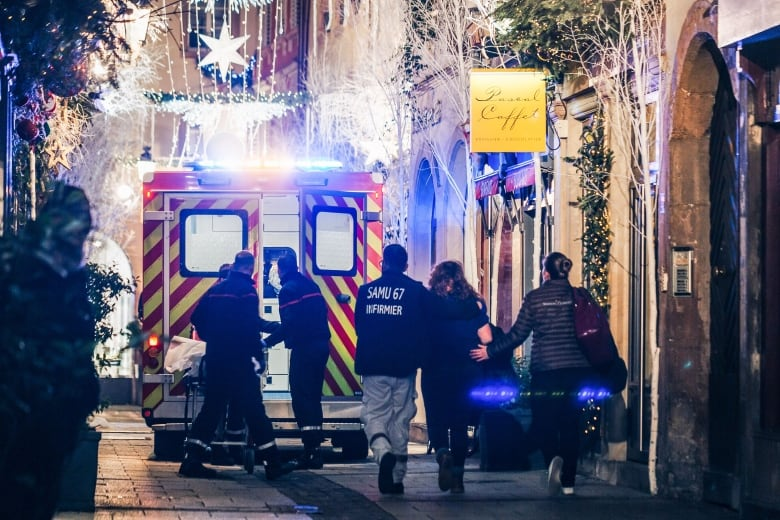 3 killed, 12 wounded in shooting at French Christmas market | CBC News