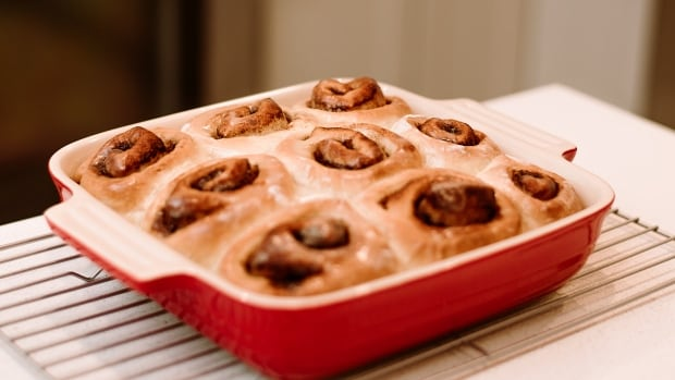 RECIPE: Wake up to these vegan maple cinnamon rolls on Christmas morning