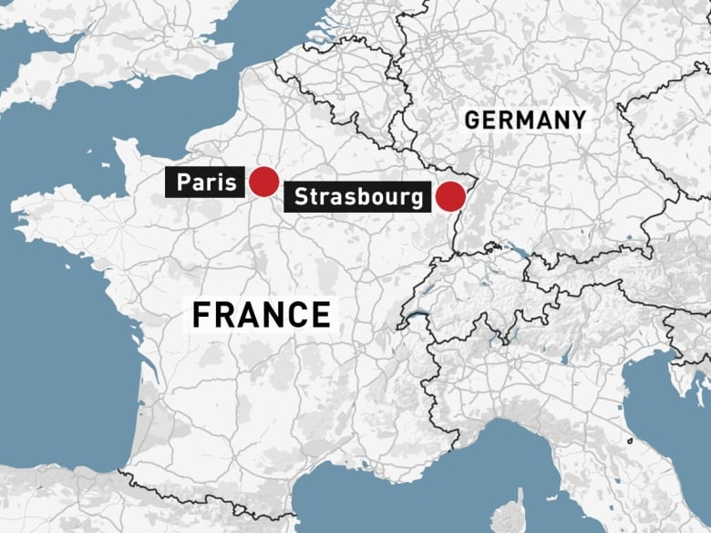 Strasbourg France Map 3 killed, 12 wounded in shooting at French Christmas market | CBC News