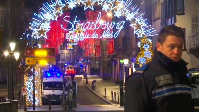 Strasbourg Gunman Shouted 'Allahu Akbar', Was Injured During Attack