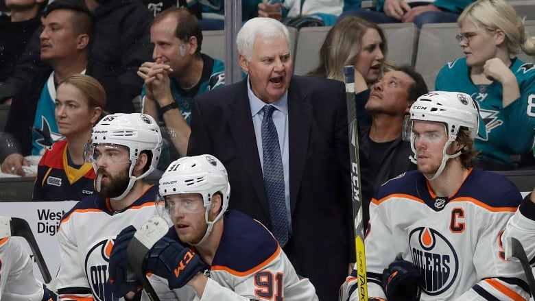 87dc6cd3f1b Ken Hitchcock has the Oilers back in playoff position after taking over as coach  11 games ago. (Jeff Chiu Associated Press)