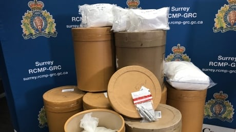 Surrey drug bust