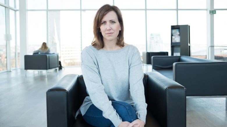 During that time, she says she's been sexually harassed and assaulted while  trying to do her job. (Robert Short/CBC)