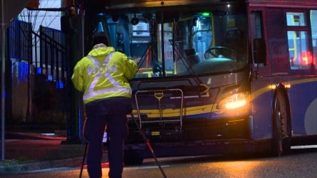 Pedestrian struck and killed by bus in Burnaby