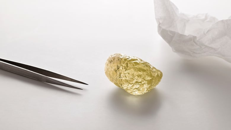 North America's Largest Diamond Unearthed in Canada's Diavik Mine