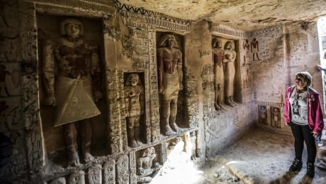 egypt unveils one of a kind 4 400 year old tomb