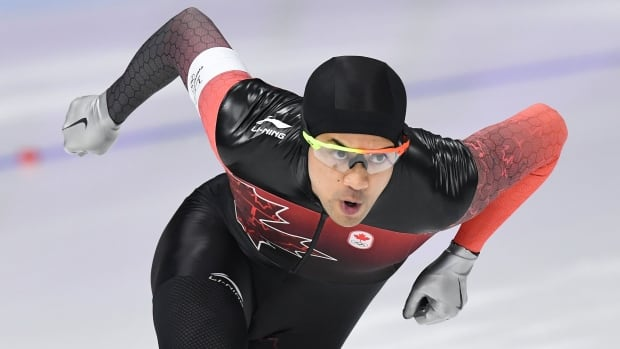 Gilmore Junio top Canadian at speed skating World Cup in the Netherlands