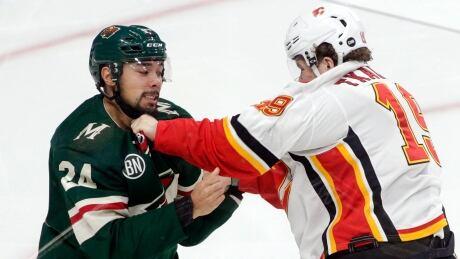Flames Wild Hockey