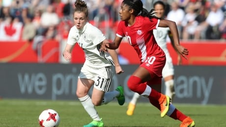 Canadian soccer star Ashley Lawrence has no time for 'twerking' twits