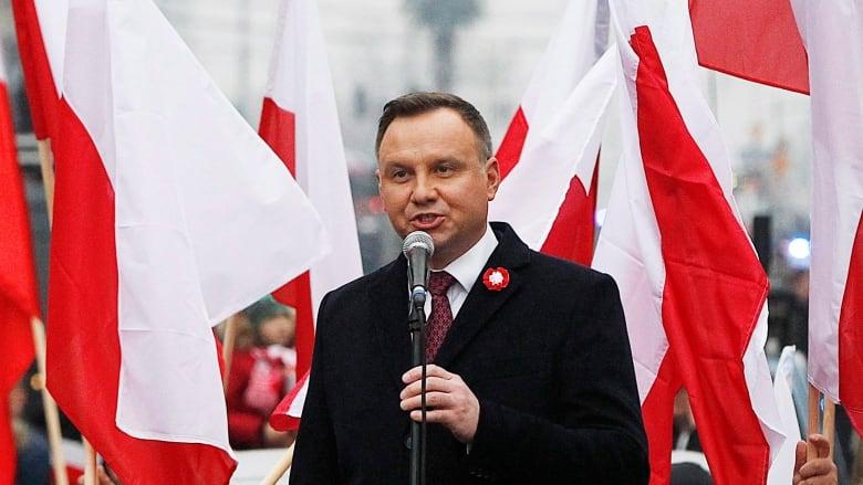 European Union court orders Poland to suspend Supreme Court retirements