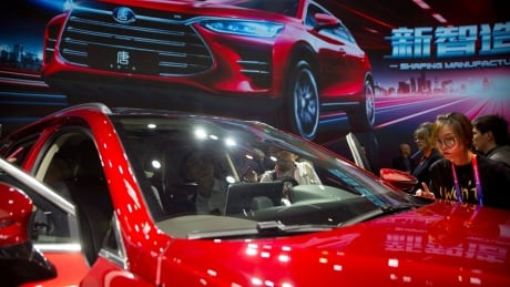 Chinese automakers' Canadian expansion plans on hold over Huawei CFO's arrest, says auto sector spokesman