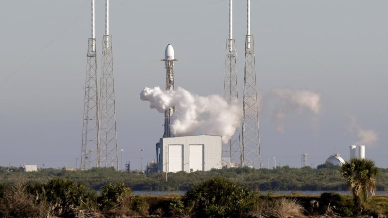 SpaceX launches 64 small satellites in single mission