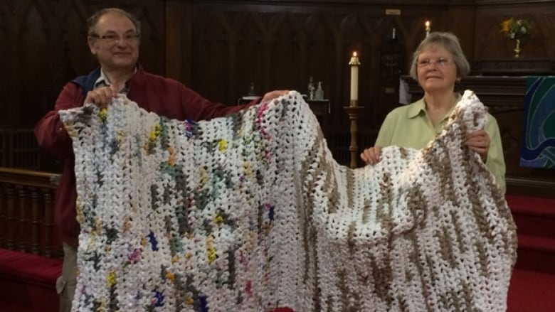 Local Group In Thunder Bay Ont Helping The Homeless By Crocheting