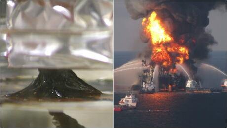 Super sponge oil clean up technology, Deepwater Horizon oil spill