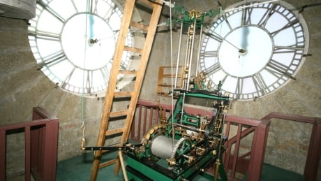 Rare century-old clock from Old City Hall — the last of its kind in Canada — is ready for your selfies