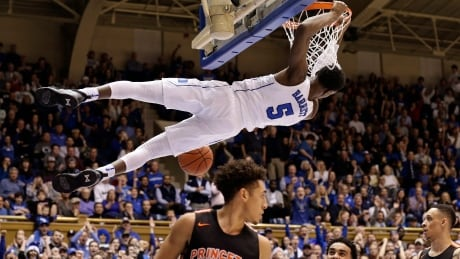 Canadian RJ Barrett continues to shine, leads Duke to rout of Princeton