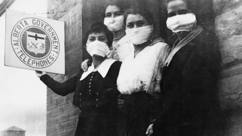 100 Years Ago A Train Carrying Spanish Flu Pulled Into Calgary Within Weeks Alberta Was In Crisis Cbc News