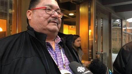 Peguis First Nation Chief Glenn Hudson