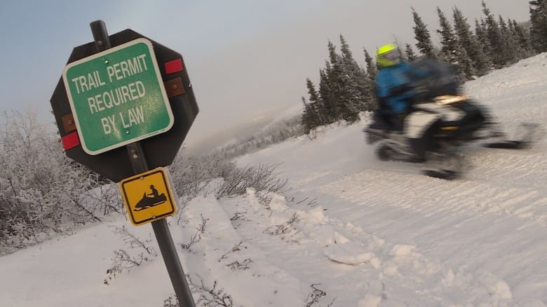 0fb38d81c02 Crackdown on snowmobile  freeloaders  riding Lab West trails without passes