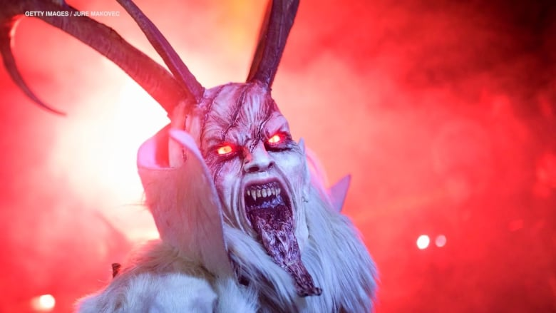 Art 101 Krampus And More Soul Eating Christmas Demons Cbc Arts